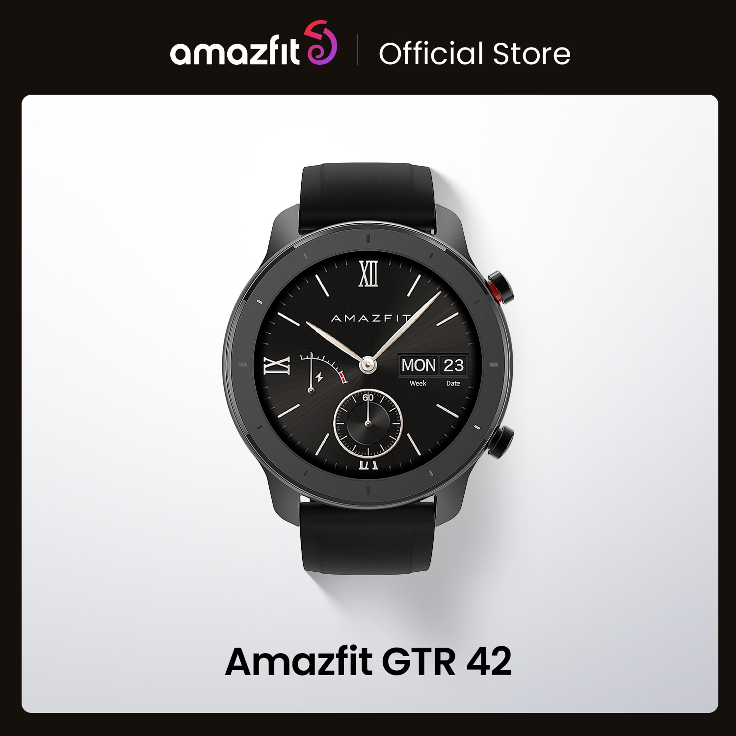 In Stock Global Version New Amazfit GTR 42mm Smart Watch 5ATM women's watches 12Days Battery Music Control For Android IOS|Smart Watches| - AliExpress