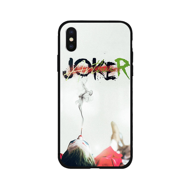 Joker 2019 Joaquin Phoenix soft Silicone black cover phone case  For iPhone11 pro  5s se 6 6s 7 8 plus X Xs XR MAX