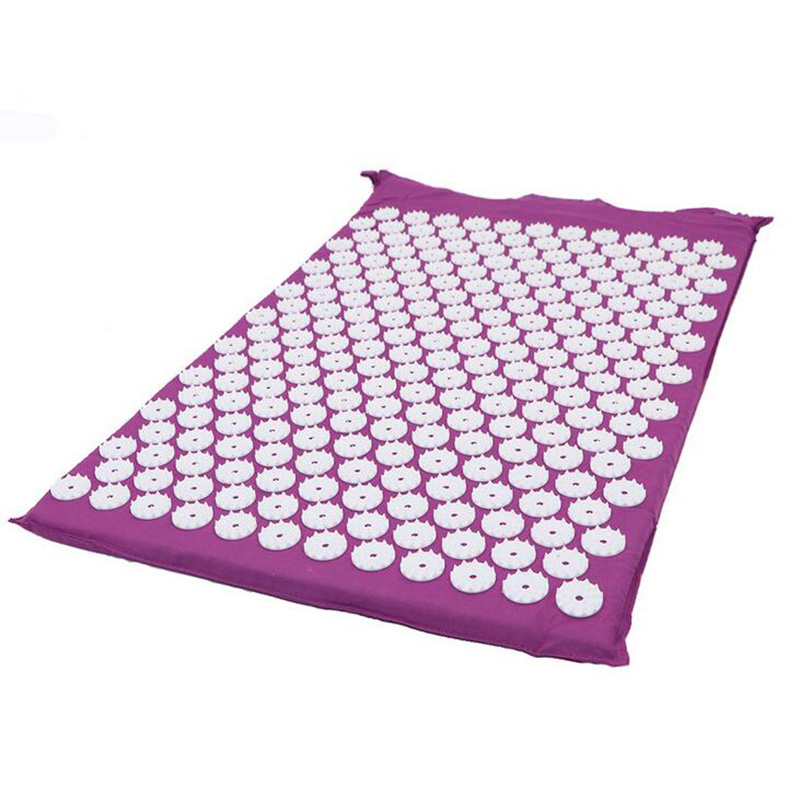 Image 3 - Massager Cushion Acupuncture Mat Relieve Stress Pain Acupressure Mat Pillow Massage Mat Rose Spike Massage and Relaxation-in Massage & Relaxation from Beauty & Health