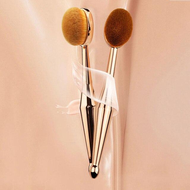 Pinceau de maquillage fond de teint brosse brosse à dents forme brosse professionnel doux poudre libre Contour brosse outil de maquillage accessoires