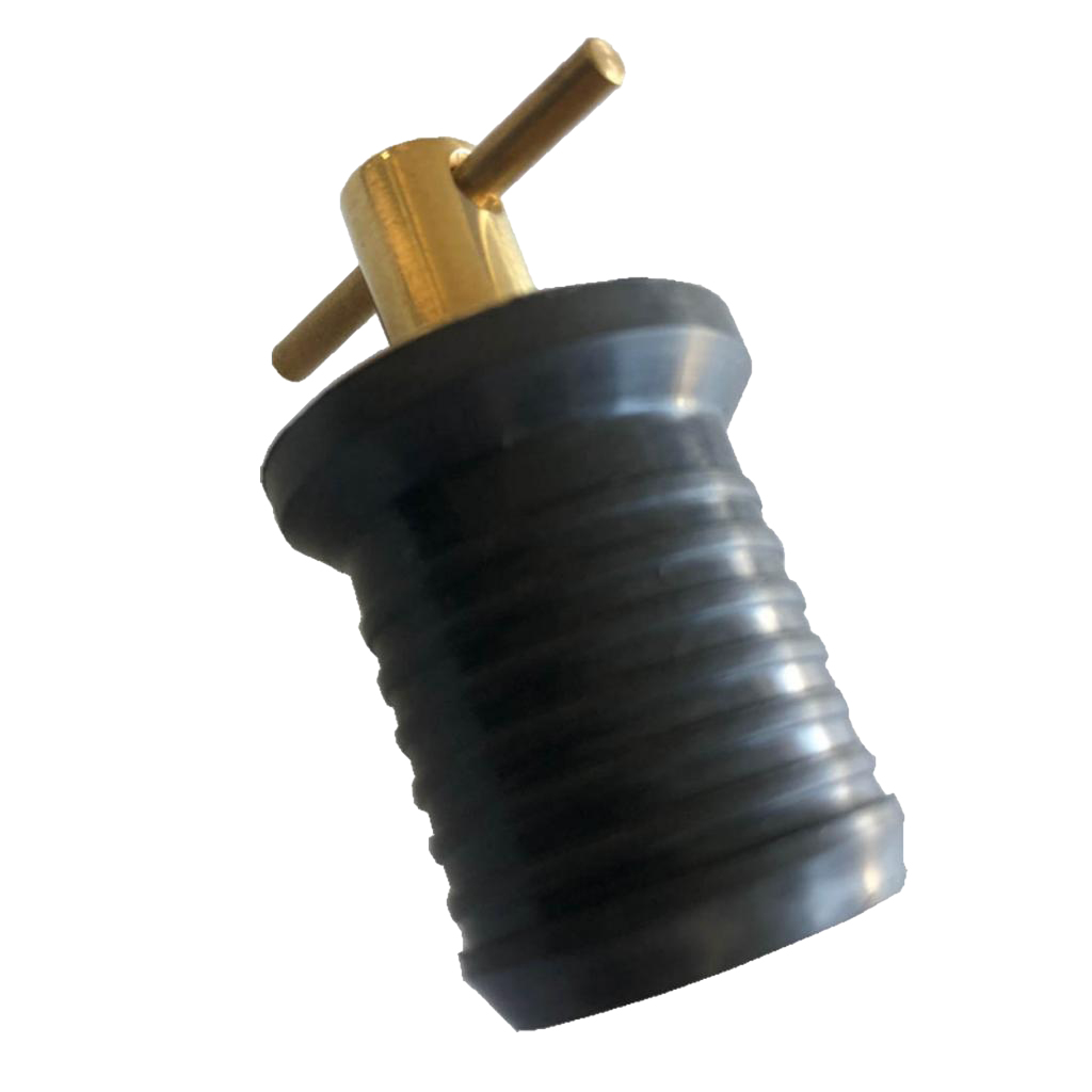 Corrosion Resistance Anti-knock Brass Handle Handle Drain Plug For Boat