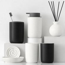 Ceramic Bathroom Four Or Five Or Six Sets Bathroom Supplies Set Bathroom Wash Set Sanitary Ware Household 456 Set