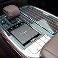 Антицарапная прозрачная пленка для салона автомобиля  центральная консоль  декоративная панель  Защитная Наклейка для Lexus LS XF50 2018