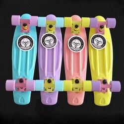 2020 di alta Qualità di Skateboard Mini Bordo per Lo Sport Esterno Strada di Pesce bordo di skateboard longboard