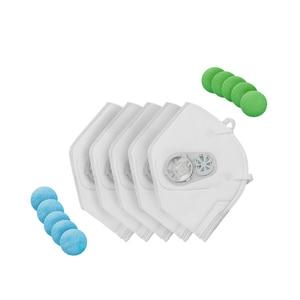 Image 3 - Youpin puramente anti poluição filtro de substituição da máscara de fluxo de ar para puramente anti poluição máscara facial de ar