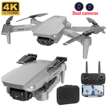 E88 pro rc quadcopterdrone 4k HD çift kamera görsel konumlandırma 1080P WiFi fpv drone yükseklik koruma helikopter