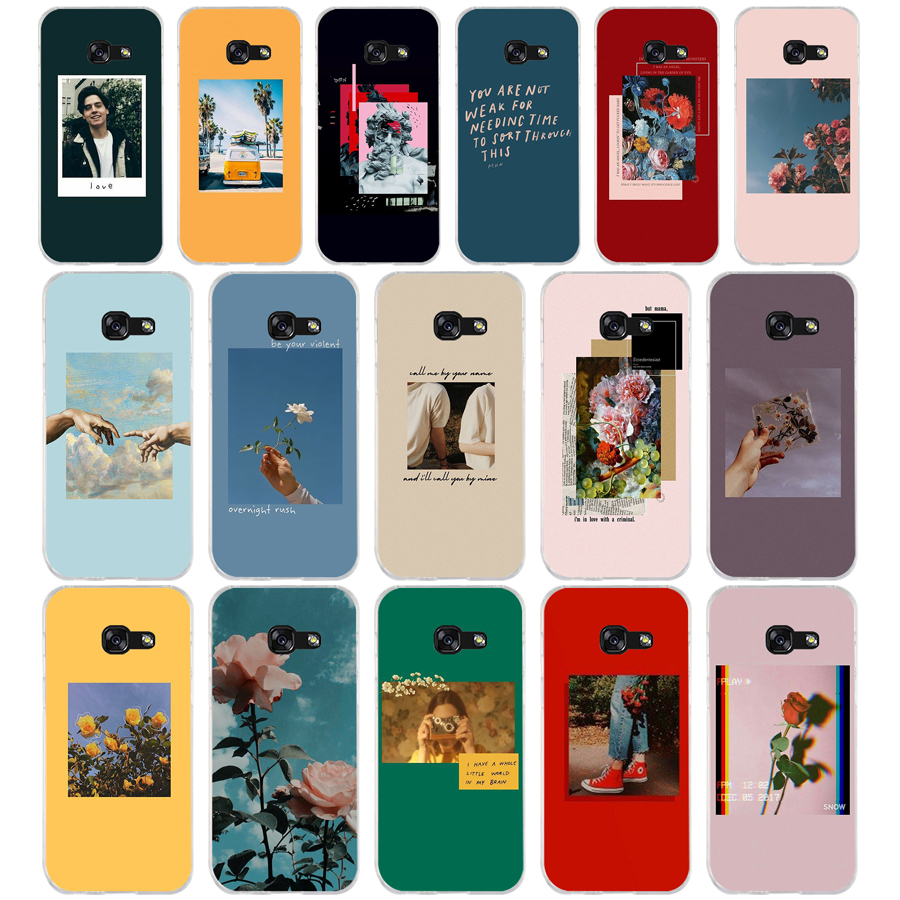 335FG Lock <font><b>Screen</b></font> Aesthetic Soft Silicone Tpu Cover phone Case for <font><b>Samsung</b></font> j3 j5 j7 2016 2017 j330 <font><b>j2</b></font> j6 Plus <font><b>2018</b></font> image