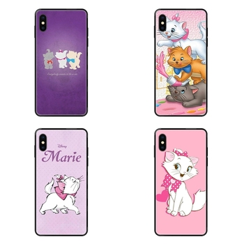 The Aristocats For Childrens For Xiaomi Redmi 3S 4X 4A 5 5A 6 6A 7 7A 8 8A 8T 9 9A K20 K30 S2 Y2 Pro Plus Ultra Black Soft TPU image