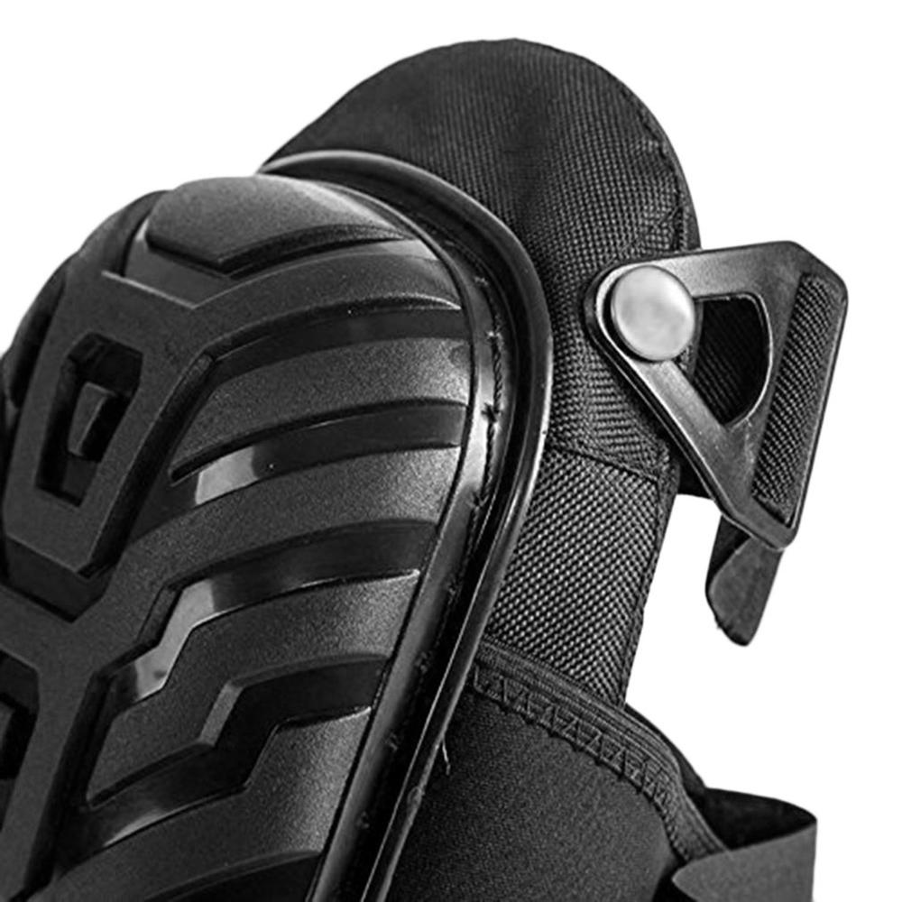 Купить с кэшбэком 1 Pair Professional Knee Pads with Adjustable Straps EVA Gel Foam Cushion PVC Shell Knee Pads For Sport Work Garden Builder