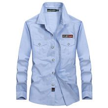 AFS JEEP Brand Shirt Men Casual