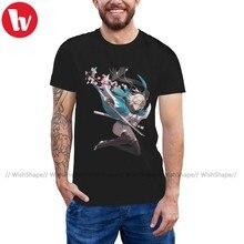 Gilgamesh Sort T-Shirt Sort Grand Ordre Sakura Sabre T-Shirt Surdimensionné à Manches Courtes T-Shirt Hommes Tshirt