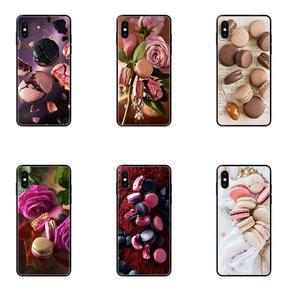 Для Huawei Honor 20 20I 20S 10 10I 6A 7A 7X 8C 8X 9 9A 9I 9X Lite Pro Роскошный чехол для мобильного телефона для макарунов, Laduree