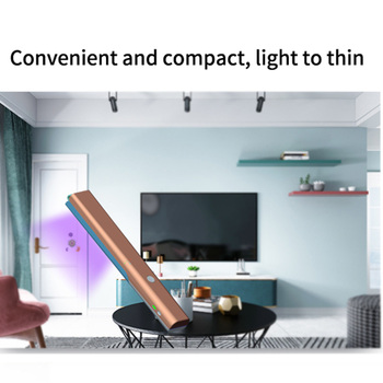 16LED Portable UV Germicidal Lamp Handheld Sterilizing Disinfection Stick Light Sterilizer Disinfection Stick Lamp Apply for Car