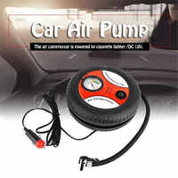 Car air pump 260PSI DC 12V Auto Pump Portable Electric Mini Tire Inflator Air Compressor drop shipping