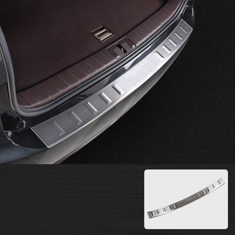 Lsrtw2017 for <font><b>Lexus</b></font> Rx <font><b>RX200T</b></font> 300 450h Car Trunk Threshold Trims Protector Interior <font><b>Accessories</b></font> 2016 2017 2018 2019 2020 image