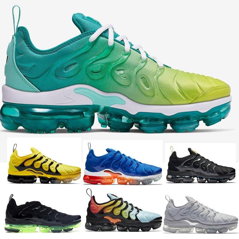 TN Plus chaussures de course pour hommes Royal Colorways Olive en métal Designer Triple blanc noir formateur Sport baskets taille 7-11