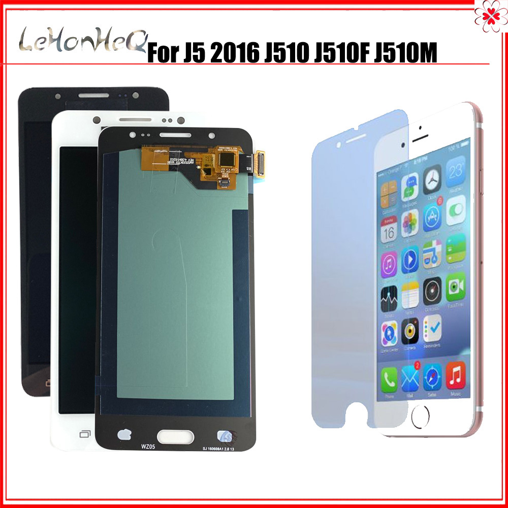 OLED LCD For Samsung Galaxy J5 2016 SM-J510F <font><b>J510FN</b></font> J510M J510Y J510G J510 LCD <font><b>Display</b></font> Touch Screen Digitizer Assembly image