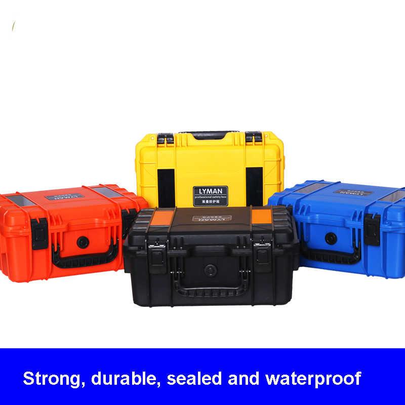 Водонепроницаемая пластиковая ABS сухой коробка защитный ящик для оборудования Портативный инструмент для выживания на природе, набор инструментов для автомобилей анти-столкновения контейнер