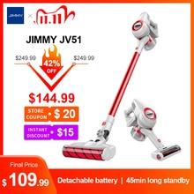 JIMMY JV51 aspirateur à main sans fil pour la maison Portable sans fil 115AW tapis daspiration balayage propre dépoussiéreur
