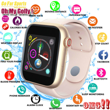 New Women Smart Watch Sim Card Fitness Bluetooth IOS Android