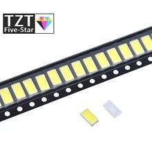 200 Uds 5630/5730-CW/WW 0,5 W-150Ma 50-55lm 6500K luz blanca de la luz 5730 SMD 5630 LED 5730 diodos (3,2 ~ 3,4 V)