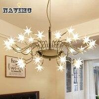 LED Pendant light Meteor Shower Living/Dining Room Lamp Scandinavian Hall Lights Bedroom Lamp Art Simple Modern Lighting