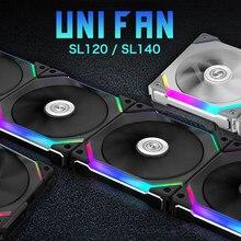 LIANLI UNI FAN SL120 SL140 – câble gratuit, Point de Contact broche à broche pour recevoir le Signal d'alimentation, MODULES de câbles spécifiés, noir, blanc