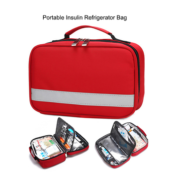 Portable Insulin Refrigerator Bag Small Medicine Refrigerator Box Outdoor Medical First Aid Kit Thermal Insulation Cooling Bag insulin refrigerator cooler medical travel insulin storage box cool case bag medicine interferon insulin pen small refrigerator