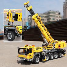 New Technic RC Car 20004 Mobile Crane MK II Compatible with Iegose 42009 Building Blocks Bricks Educational Toys Children Gift