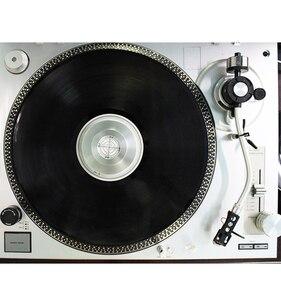 Image 4 - Металлический зажим для записи LP Дисковый стабилизатор баланса измерения вибрации для поворотного стола