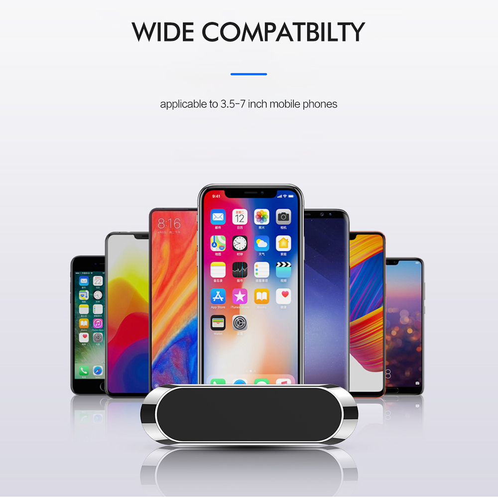 Air Outlet  Rotating Magnetic Car Phone Bracket Combination Suitable For IPhone Huawei Wall Mount GPS Car Installation Iphone