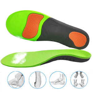 Image 1 - הטוב ביותר קשת רגל אורתופדים נעלי Sole רפידות לנעליים Pad X/O סוג רגל תיקון שטוח רגל קשת תמיכה ספורט נעלי מוסיף