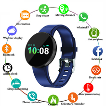 Smart Watch Men Women Health Sport Monitor Waterproof Bluetooth Fitness for IOS and Android Bracelet
