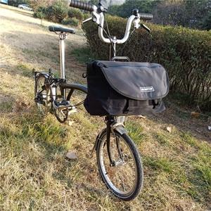 ACEOFFIX For Brompton S Bag SBag Basket Bag for Folding Bike Brompton Vegetable Bag Frame Bicycle Accessories(China)