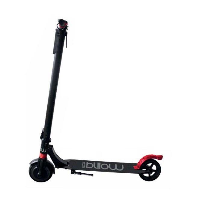 Skate ellectric Scooter Billow urbain 65 écran LCD moteur 250 W batterie 4400 mAh LG Lithium roue roulettes 6.5 cm couleur noire