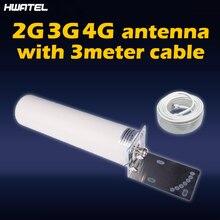 Antena exterior do tambor da antena 698-2700mhz 12dbi onmi de 4g com fêmea de n para o repetidor do sinal do telefone celular de gsm W-CDMA 2g 3g