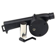 Outdoor Barbecue Blower Hair-Dryer Bbq-Tools Manual Portable Fan