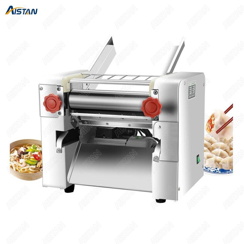 FKM300 Electric Dough Roller Stainless Steel Dough Sheeter Noodle Pasta Dumpling Maker Machine 220V Roller and Blade Changable 2