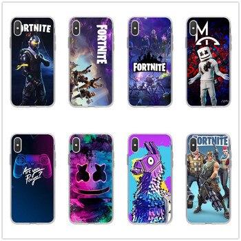 Fortnites Cartoon Game Original Painted Mobile Phone Case Apple IPhone 11 Pro XS Max X XR 6 6S 7 8 P