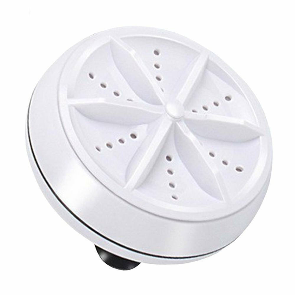 Ultrasonic Turbo Washing Machine Portable Travel Washer Air Bubble And Rotating Mini Washing Machine 1