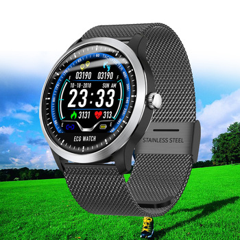 New Sport Fitness Watch ECG + PPG Smart Men IP67 Waterproof Heart Rate Monitor Blood Pressure Smartwatch For IOS Android