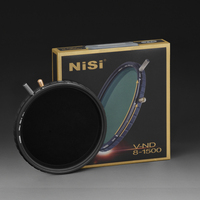 NiSi 67mm 72mm 77mm 82mm ND8 1500 Variable ND Filter Multi Coating Neutral Density Adjustable ND8 to ND1500 Lens Filters