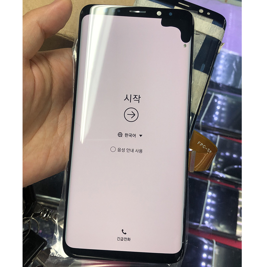 AMOLED For Samsung S9 Plus LCD Display Touch G965 Display For Samsung S9 Plus Dead Pixels LCD Display+Touch Screen Digitize