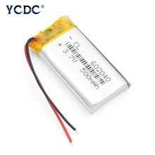 602040 3,7 в 500 мАч литий-полимерный литий-ионный аккумулятор для gps MP3 MP4 MP5 Автомобильный видеорегистратор тахограф наушники литий-ионный аккумулятор 4 шт