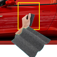 車のキズ補修ツール布ナノ材料表面用ぼろ自動車ペイント傷リムーバー擦り傷用