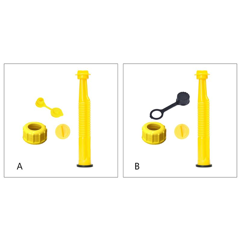 Replacement Spout /& Parts Cap Kit for Rubbermaid Kolpin Gott Can Fuel Gas US