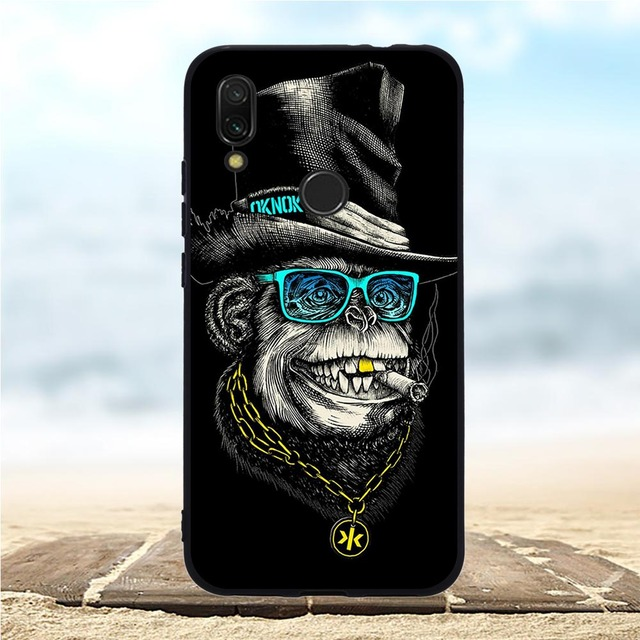 Silicone Case For Xiaomi Redmi 7 Cases Full 360 Protection Soft Tpu Back Cover New Shell For Xiaomi Redmi7 Bumper Hongmi 7 Coque