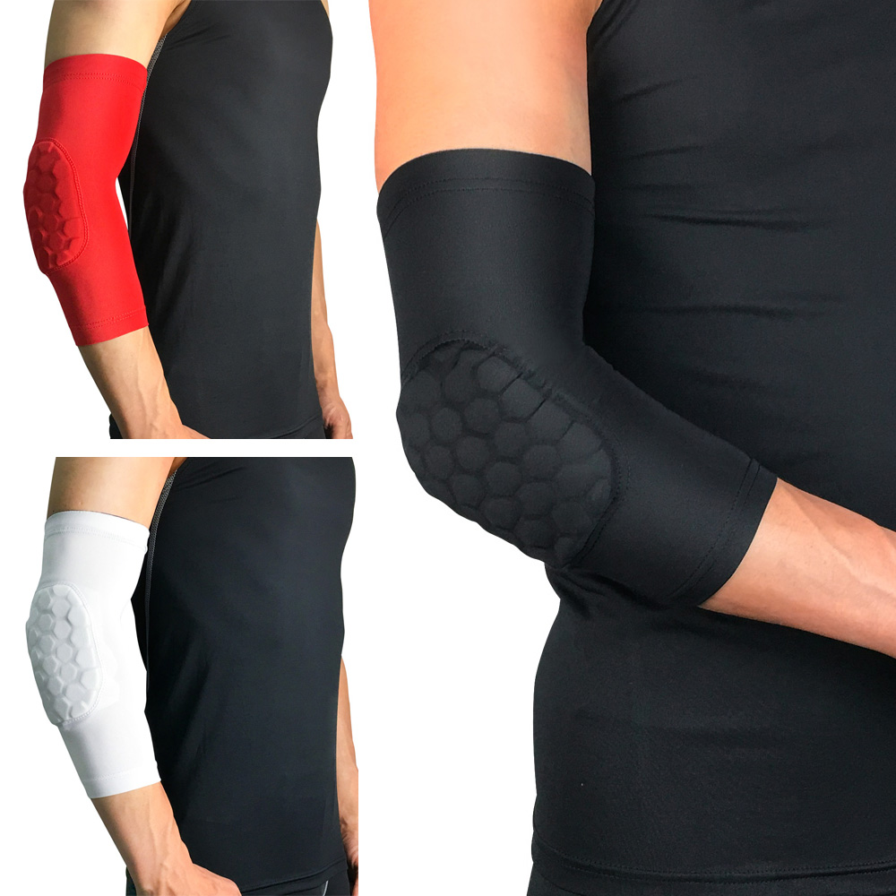 Protective Gear Sports Elbow Protection Pads Honeycomb Anti-collision Arm Sleeve