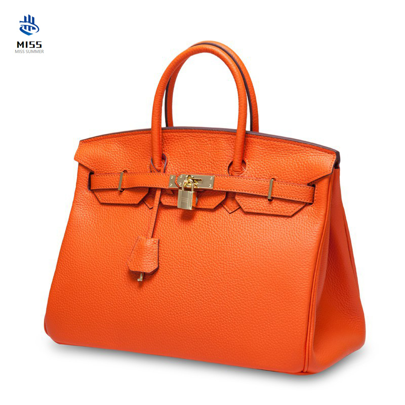 2020 New 100% Genuine Leather Handbag Luxury Design First Layer Cowhide Stylish Pebbled Platinum Bag Ladies Handbag Shoulder Bag