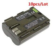 Lot de 10 Batteries BP 511A BP 511A pour appareil photo, pour Canon EOS 300D 10D 20D 30D 40D 50D D30 D60 5D G6 511, 250